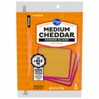 Kroger® Medium Cheddar Cheese Slices