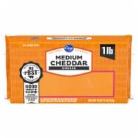 Kroger® Medium Cheddar Cheese Bar