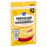 Kroger® Shredded Mexican Style Blend Cheese