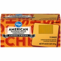 Kroger® American Cheese Singles 72 Count Package