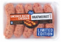 Kroger® Uncured Bacon Cheddar Bratwurst