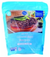 Kroger 93% Lean 7% Fat Frozen Ground Beef Burgers