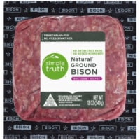 Simple Truth™ Natural Ground Bison 85% Lean