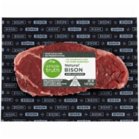 Simple Truth™ Natural Bison Strip Loin Steak