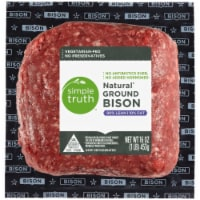 Simple Truth™ 90% Lean Natural Ground Bison