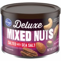 Kroger® Deluxe Salted with Sea Salt Mixed Nuts