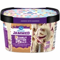 Kroger® Deluxe Jammed Peanut Butter & Jelly Ice Cream