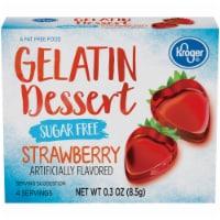 Kroger® Sugar Free Strawberry Flavored Gelatin Dessert