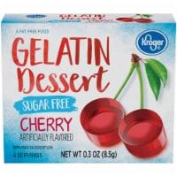 Kroger® Sugar Free Cherry Flavored Gelatin Dessert