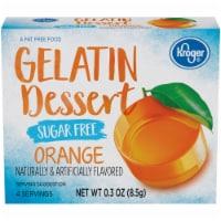 Kroger® Sugar Free Orange Flavored Gelatin Dessert