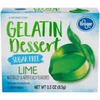 Kroger® Sugar Free Flavored Lime Gelatin Dessert