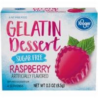 Kroger® Sugar Free Raspberry Flavored Gelatin Dessert