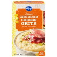 Kroger® Instant Cheddar Cheese Country Grits