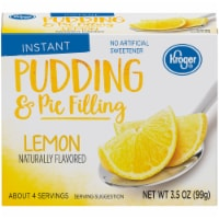 Kroger® Lemon Instant Pudding & Pie Filling Box