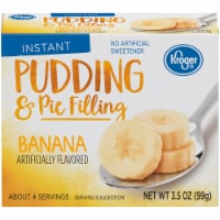 Kroger® Instant Banana Pudding & Pie Filling