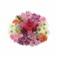Bloom Haus™ Harmony Orange/Purple/Green Theme B Bouquet