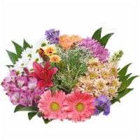 Bloom Haus™ Concerto Orange/Purple/Green Theme B Bouquet