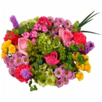 Bloom Haus™ Rhapsody Yellow/Pink/Lavender Theme C Bouquet