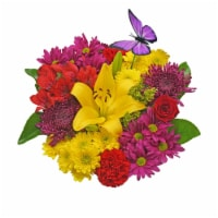 Bloom Haus™ Duet Yellow/Pink/Lavender Theme C Bouquet