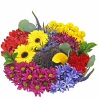 Bloom Haus™ Concerto Yellow/Pink/Lavender Theme C Bouquet