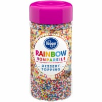 Kroger® Rainbow Nonpareils Dessert Topping