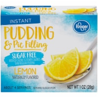 Kroger® Lemon Instant Sugar Free Pudding & Pie Filling