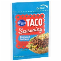 Kroger® Reduced Sodium Taco Seasoning