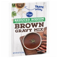 Kroger® Reduced Sodium Brown Gravy Mix