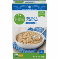 Simple Truth Organic® Original Instant Oatmeal