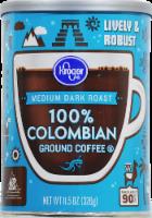 Kroger® 100% Colombian Medium Dark Roast Ground Coffee