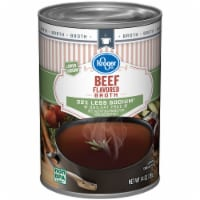 Kroger® 99% Fat Free Less Sodium Beef Broth