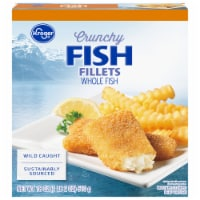 Kroger® Crunchy Fish Fillets