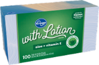 Kroger® White Facial Tissues with Lotion