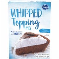 Kroger® Whipped Topping Mix - 4 ct / 1.25 oz