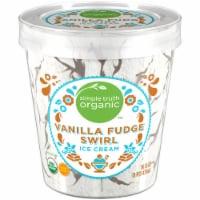 Simple Truth Organic™  Vanilla Fudge Swirl Ice Cream