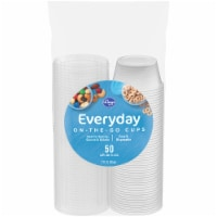 Kroger® Home Sense® On the Go Clear Cups with Lids