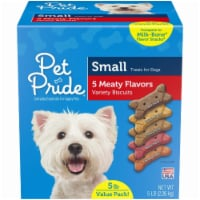 Pet Pride™ Small Dog Treat Biscuits Variety of Flavors Value Pack
