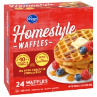 Kroger® Homestyle Waffles 24 Count