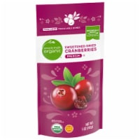 Simple Truth Organic™ Premium Sweetened Dried Cranberries