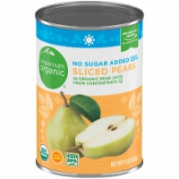 Simple Truth Organic® No Sugar Added Sliced Pears