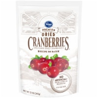 Kroger® Premium Sweetened Dried Cranberries - 12 oz