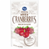 Kroger® Premium Sweetened Dried Cranberries Bag