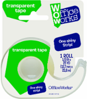 Office Works® Transparent Tape - 1 Roll