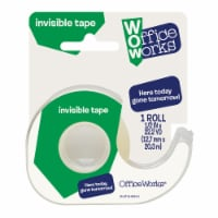 Office Works® Invisible Tape - Clear