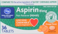 Kroger® Aspirin Low Dose Orange Chews