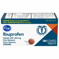 Kroger® Ibuprofen Pain Reliever Coated 200mg Tablets