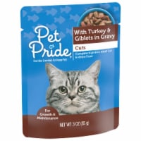 Pet Pride® Cuts with Turkey & Giblets in Gravy Wet Cat Food
