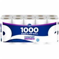 Kroger® 1000 Sheets Per Roll Bath Tissue 20 Ct Package