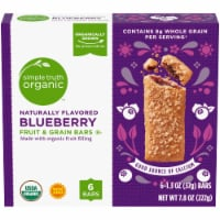 Simple Truth Organic™ Blueberry Fruit and Grain Bars 6 Count