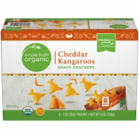 Simple Truth Organic™ Cheddar Kangaroos Snack Crackers